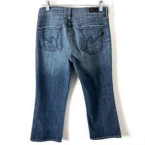 COH Cropped Jeans Women's 29 Kelly #063 Stretch